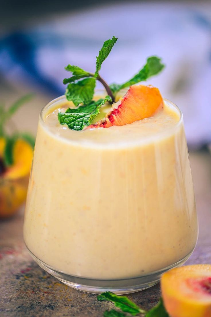 Healthy Peach Pie Smoothie, Peach Smoothie