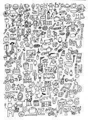 mis à jour avec de nouvelles fiches sur http://chezcamille.eklablog.com/cherche-et-trouve-a108975764 amis.jpg Plastifier la fiche avec le dessin. Donner une des fiches de recherche et demander à l'enfant d'entourer avec la bonne couleur les différents...
