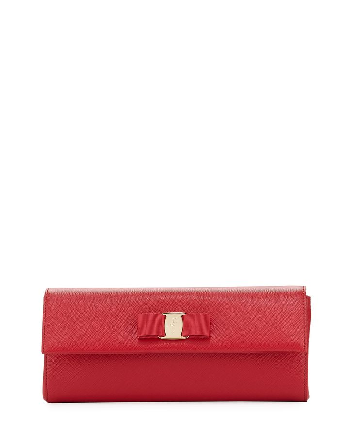Miss Vara Saffiano Clutch Bag, Pamplona