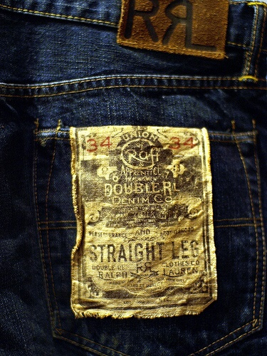 RRL Japanese denim jeans