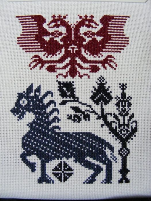 Charted Peasant Designs from Saxon Transylvania -