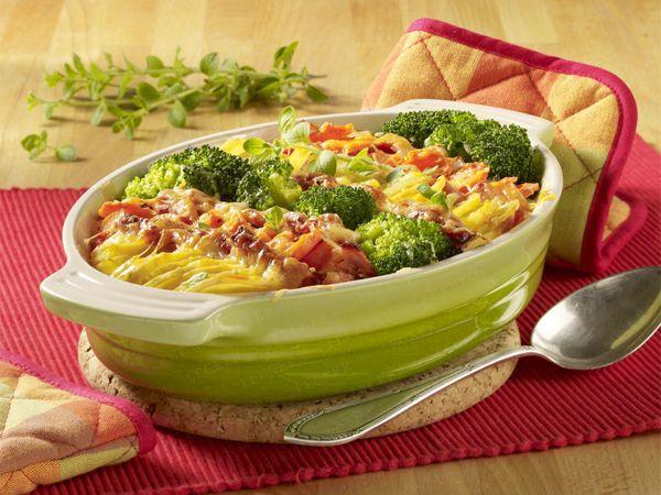 Kartoffel-Gemüse-Auflauf - so geht's - kartoffel-gemuese-auflauf  Rezept