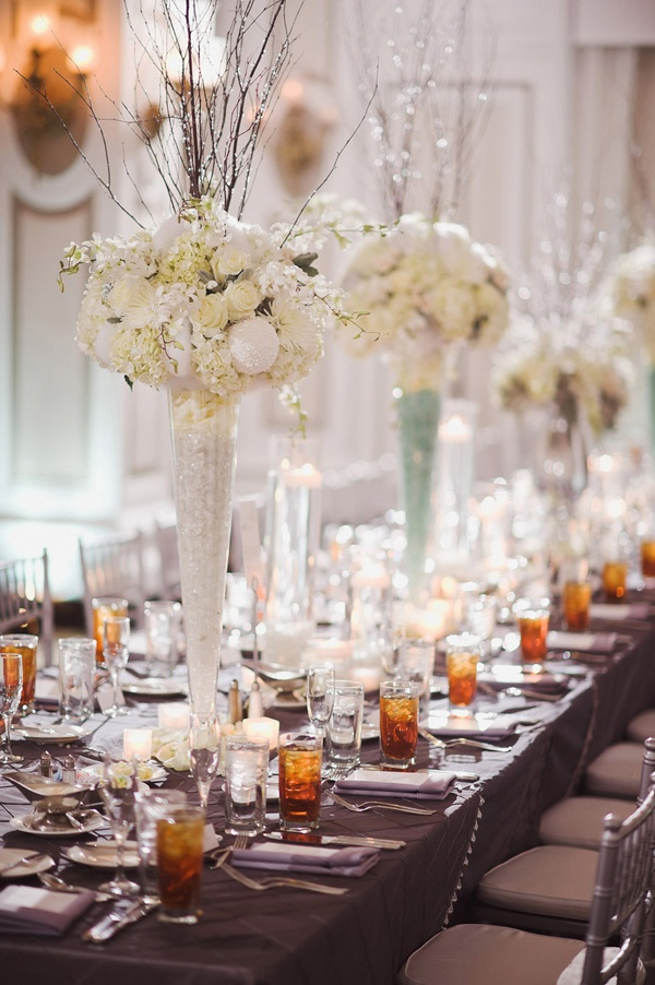 22 best images about great gatsby wedding on pinterest for Winter themed wedding centerpieces