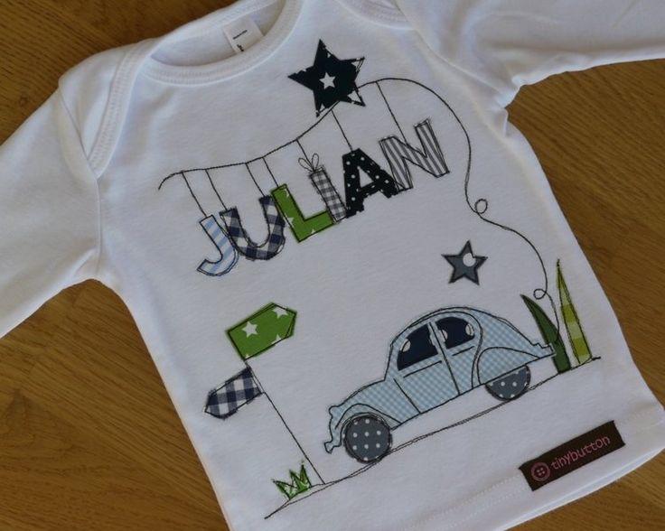 "Langarmshirts - Langarmshirt ""Traumauto"" - ein Designerstück von tinybutton bei DaWanda"