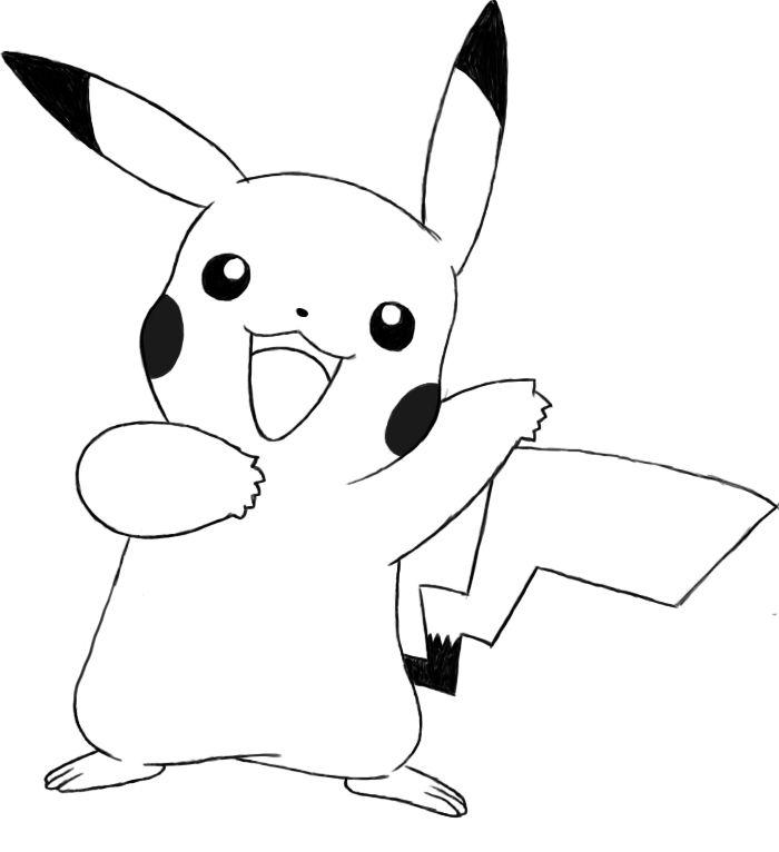 De 25+ bedste idéer inden for Pikachu drawing på Pinterest ...