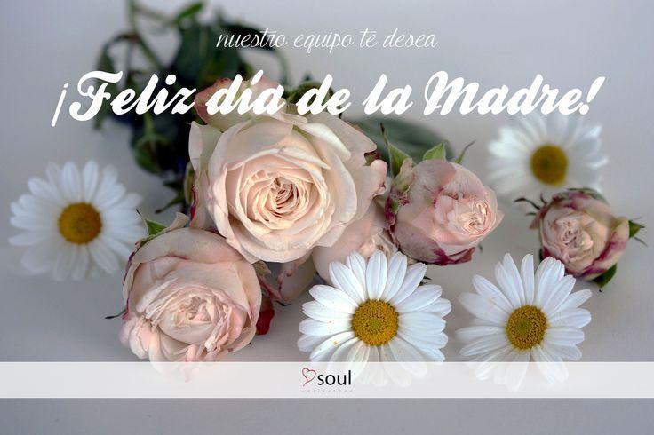 Desde Soul queremos felicitar a todas las Mamás del mundo un feliz Día de la Madre. ¡Hoy es vuestro día!  Soul team would like to wish every Mom in the world a happy Mother's Day. Today is your day!
