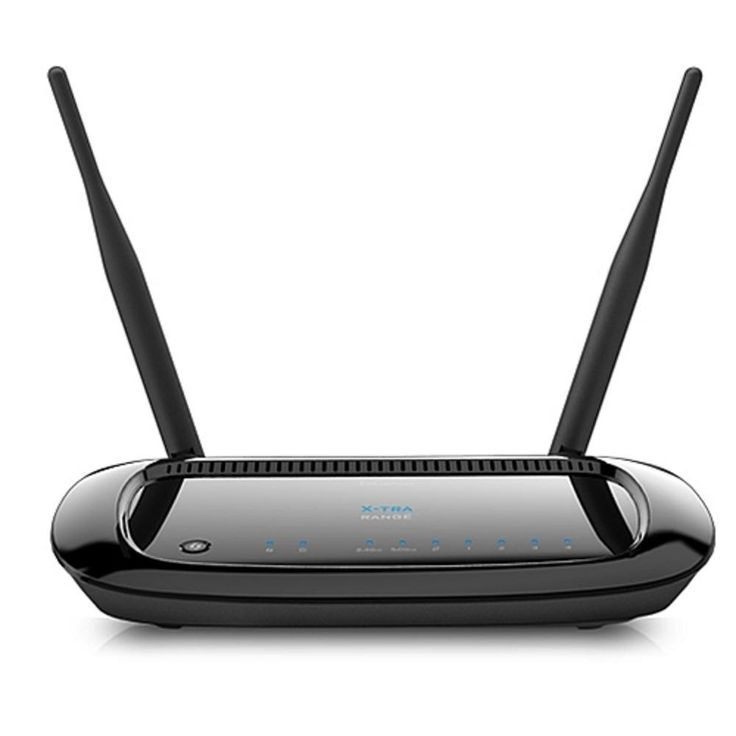 EnGenius ESR750H XtraRange Dual-Band Wireless-N Router w-300 + 450 Mbps Data Rate