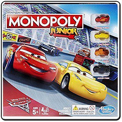 Monopoly Junior - Cars 3 Edition