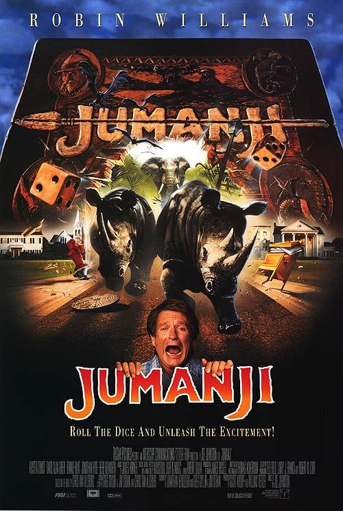 movies posters 1995 | Jumanji movie posters at movie poster warehouse movieposter.com Canada