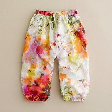 watercolor billow pant
