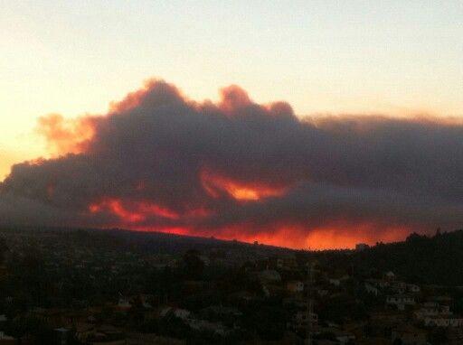 Incendio Valparaiso 2015
