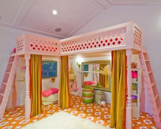 kid bedroom with loft   visit houzz com. 17 best kids bedrooms images on Pinterest   Bedroom ideas  Attic