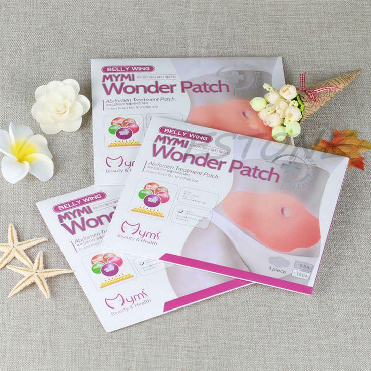 5Pcs MYMI Wonder Slimming Patch Belly Slim Patch Abdomen Weight Loss Fat burning Cream Navel Stick Efficacy Stron A12247
