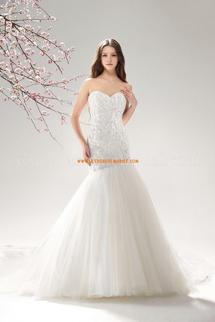 Sirene Robe De Mariee 2014 Organza Wedding DressesVintage
