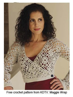 104 best knit shrugbolero images on pinterest knit shrug robyn chachula author of blueprint crochet interweave october demonstrates in knitting daily tv episode 111 how to read crochet charts in order to make malvernweather Choice Image