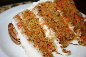 High altitude carrot cake