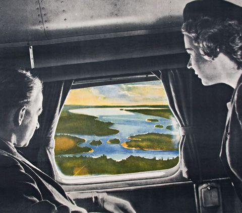 Finnairin vanha mainos - kuulemma Oulun uuden lentoreitin avaamisen kunniaksi. Tänäänkin Oulu on ihana lomakohde :)  http://www.radissonblu.fi/hotelli-oulu #Oulu #Finnair #mainos #hotelli