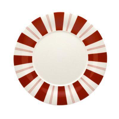 Red Vanilla Tuxedo Rouge Round Platter