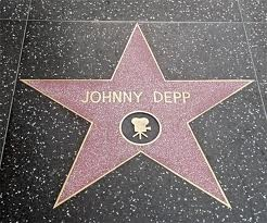 Johnny Depp ~ Hollywood Walk of Fame Star