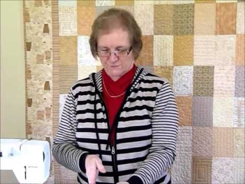 This video shows how to make a Log Cabin Block using a rainbow of colours for the strips. There is a free downloadable pattern sheet for the block on www.gou...