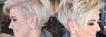 Bitte kurz, aber nicht zu viel abschneiden! Blond oder doch lieber den Granny Look?