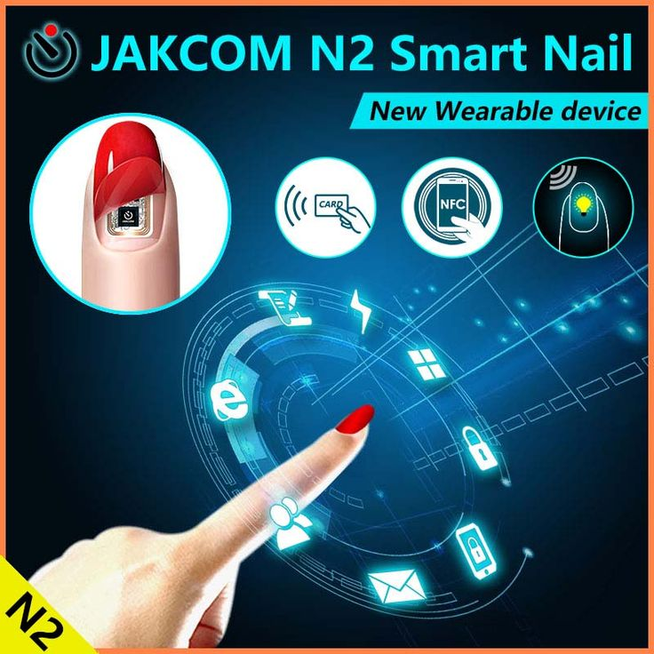 Jakcom N2 Smart Nail New Product Of Smart Watches As Watch Bluetooth Vibrating Alarm Clock Bracelet Mtk6580 //Price: $23.98      #shopping
