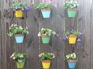 Find This Pin And More On Vertical   Small Space Garden Design With Flower  Pots! By Hangapot.