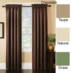 paint colors with chocolate curtains | wall with silk chocolate brown  curtains sort of like these