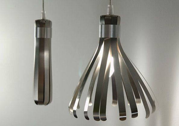 so cool!! Protea, Pendant Lamp by Karl Zahn: Thermotrophic, moving away from