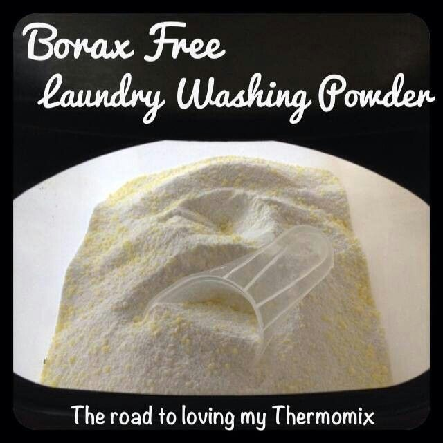 Thermomix borax free washing powder