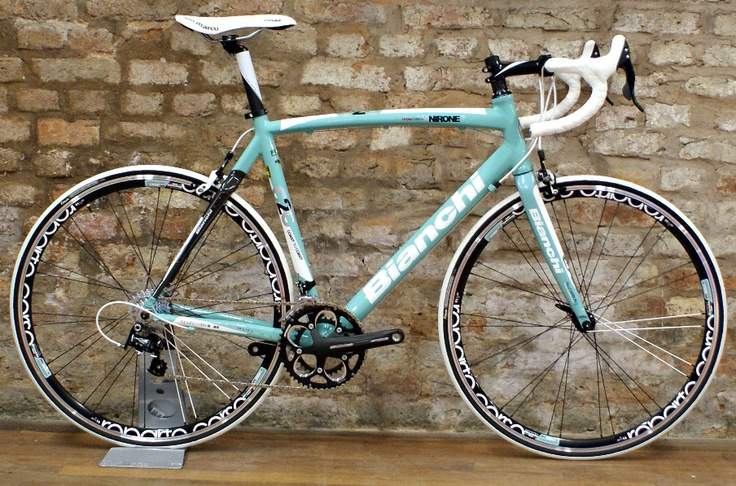 My bike. Bianchi Via Nirone 7, model 2011.