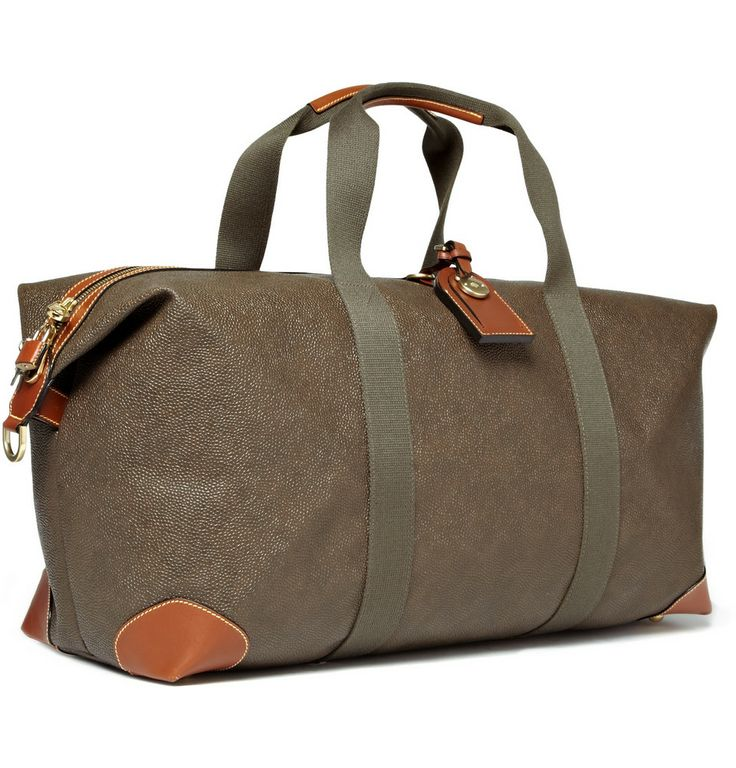 Mulberry Mens Medium Clipper Holdall Bag 2