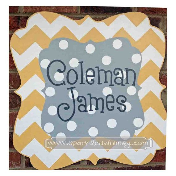 homely idea personalized door knocker. Personalized Chevron Polkadot Baby Sign For by Sparkled Whimsy Children  Housewares Room Decor door personalize decoration hospital baby shower 631 best Wood Door Hangers images on Pinterest doors