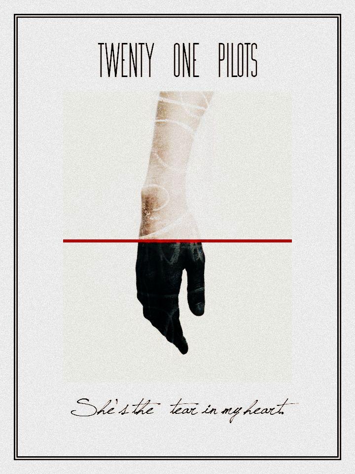 Twenty One Pilots | Tear In My Heart poster