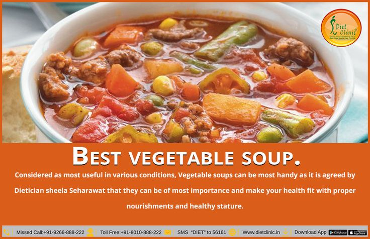 weight loss for best vegetable soup