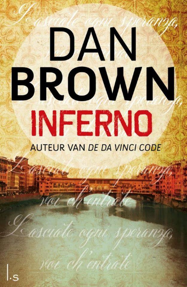 Dan Brown: Inferno | dutch cover | #book #DanBrown #cover