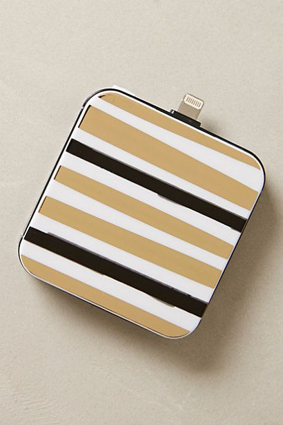 iphone 5 backup battery / anthropologie