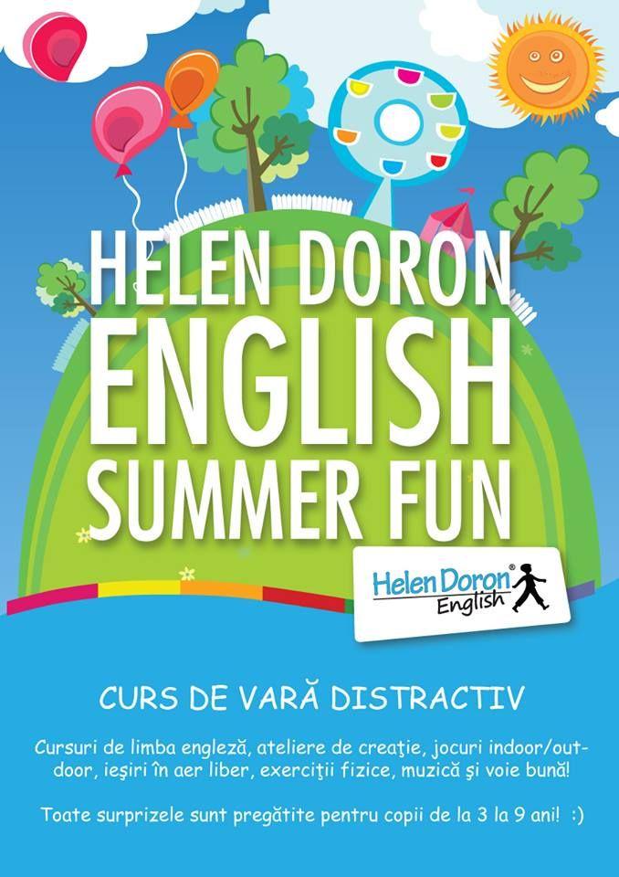 Înscrieți-vă copiii la cele mai cool cursuri ale verii în #limba #engleză!