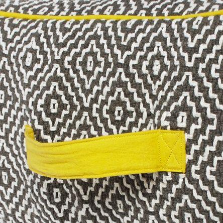 Sitzpouf, eckig, 50x50 cm | Möbel bei Strauss Innovation