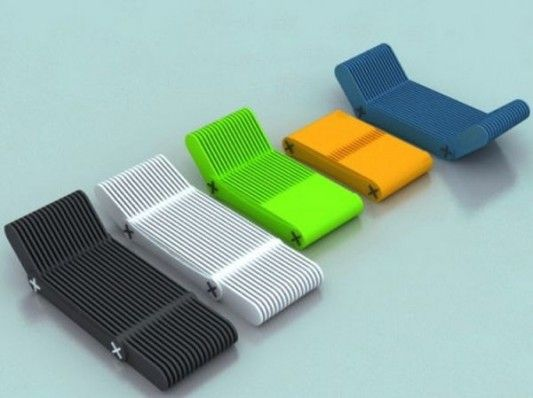 modern contemporary outdoor folding chair with various color option