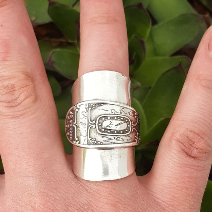 Cute CUSTOM MADE Make a Spoon Ring From Your Spoon