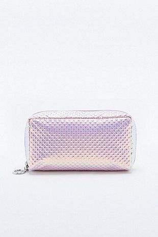 Deena & Ozzy Pyramid Holographic Cosmetics Case - Urban Outfitters