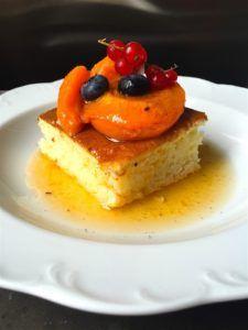 Classic baked vanilla and apricot rizskoch   Klasszikus rizskoch vaníliás sült sárgabarackkal   Chili és Vanília