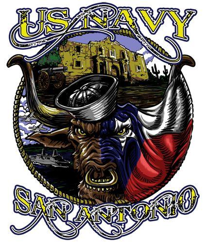 Fort Sam Houston US Navy Shirt $19.95