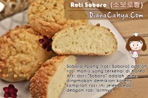 Roti Soboro dengan Ragi Alami | DianaCahya.Com