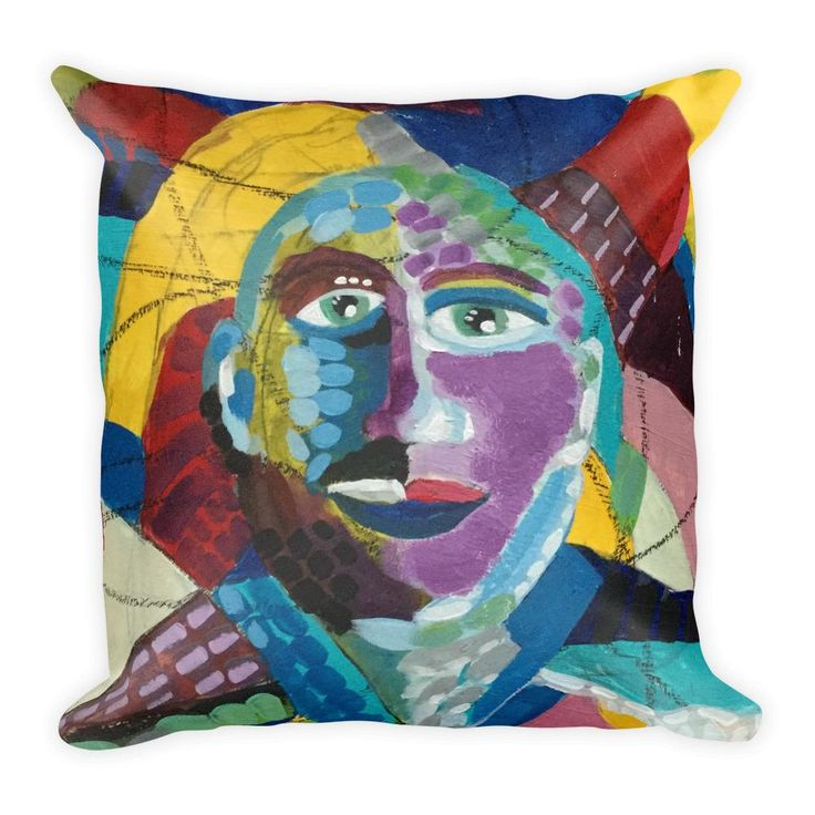 """""""After the Storm"""" Square Pillow"""