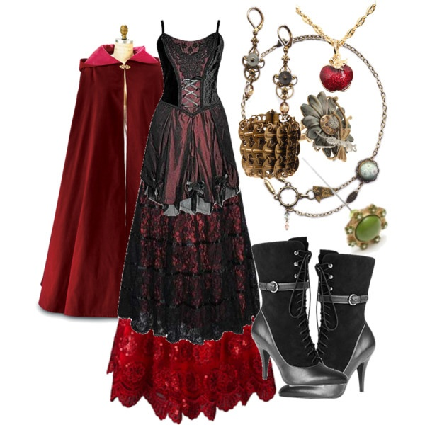 Steampunk Red Riding Hood Google Search Cosplay Ideas