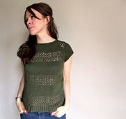 Ravelry: WORK+SHELTER Lace Striped Sweaters pattern by Allyson Dykhuizen