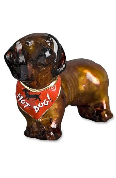 Joy to the World Collectibles 'Red Dachshund' Dog Ornament