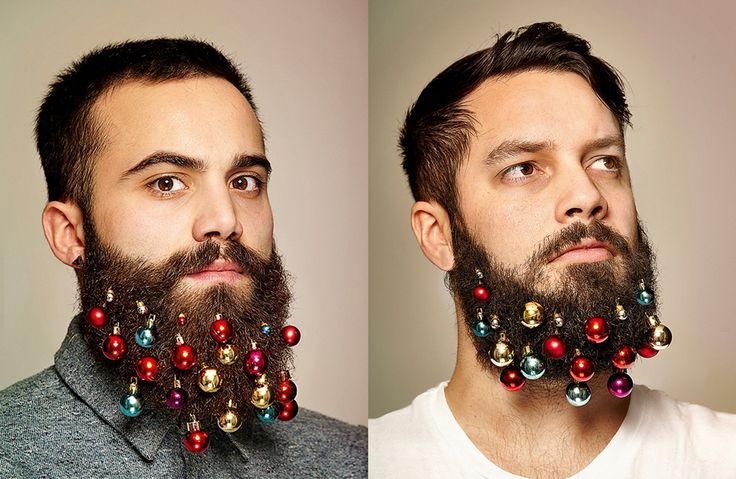 Beard baubles were created by Grey London ad agency for their company Christmas card! Click the picture to see what #charity they support!